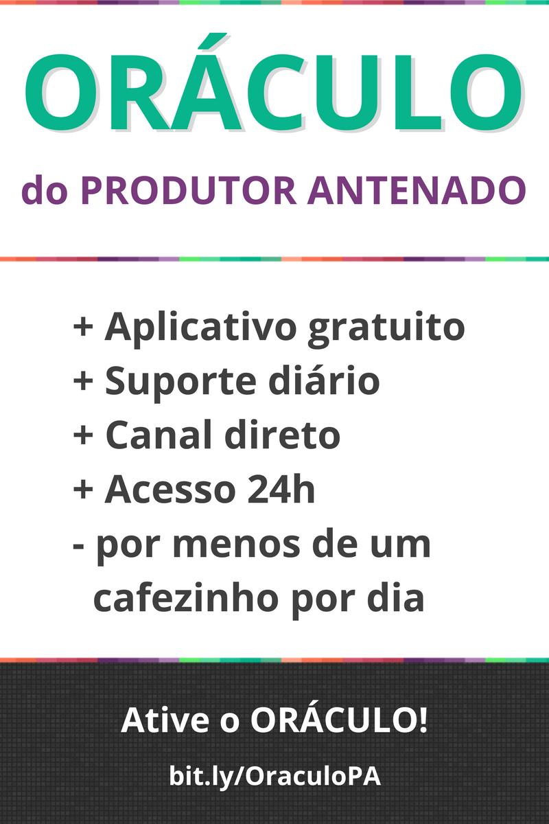 Oráculo do Produtor Antenado para resolver seus problemas mais urgentes de financiamento à produção audiovisual | produtorantenado.com.br/oraculo